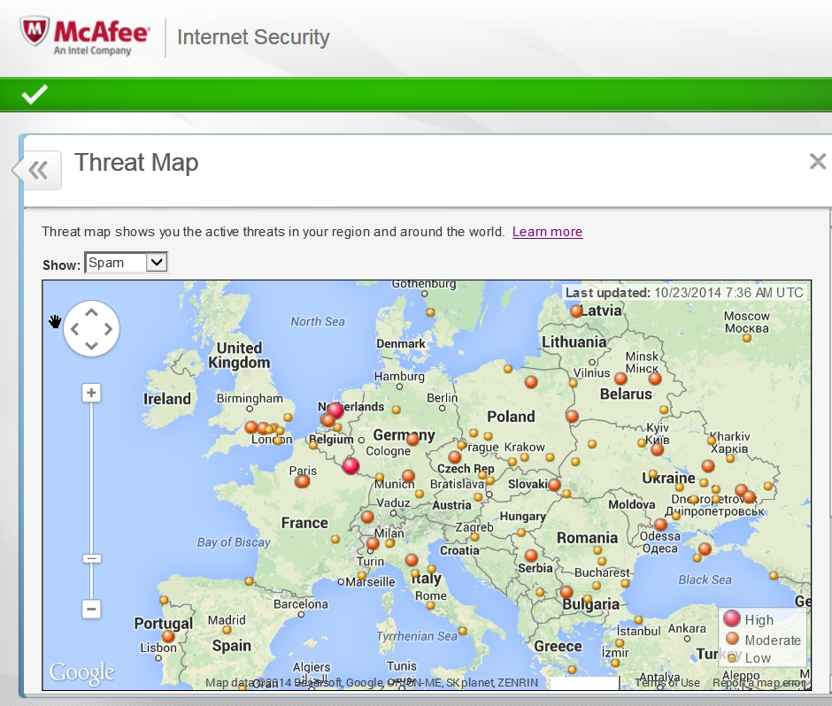 McAfee Internet Security 2015