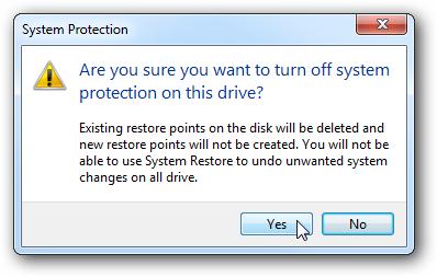 protection du système
