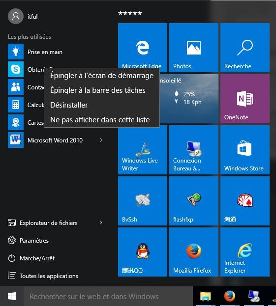 comment d u00e9sinstaller les app inclus par d u00e9faut dans windows 10   et comment les r u00e9installer