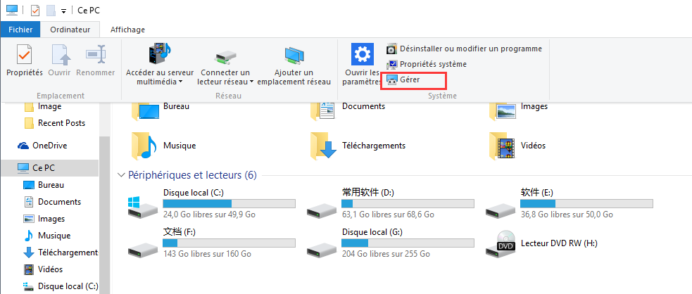 Guide pour configurer windows 10 services for Configurer ecran pc