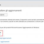 Correctif de Windows 10 Mise à jour 1511 de Novembre n'est pas disponible pour votre ordinateur
