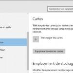 Comment télécharger des cartes hors connexion dans Windows 10