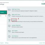 Comment désactiver le pare-feu et Safe Money de Kaspersky dans Windows 10