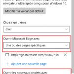 L'écran Bleu à l'ouverture du navigateur Microsoft Edge