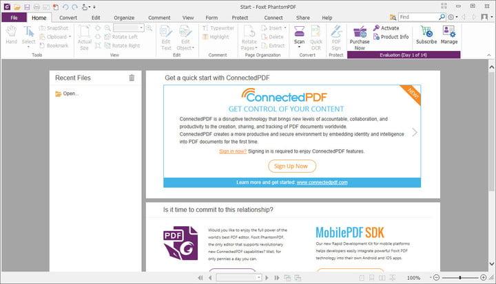 Foxit PhantomPDF 8 PDF Editor