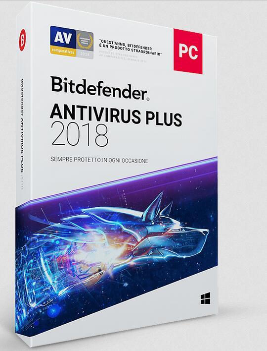 Bitdefender Anivirus Plus 2018