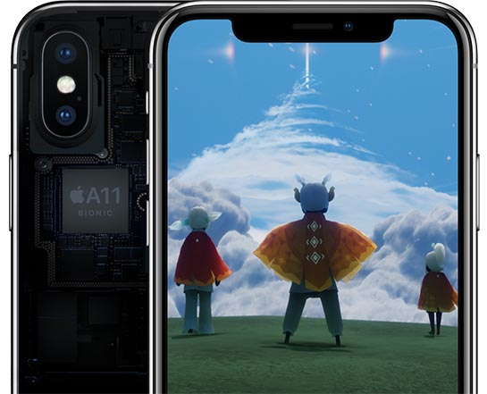 iPhone X vs. 8 et 8 Plus