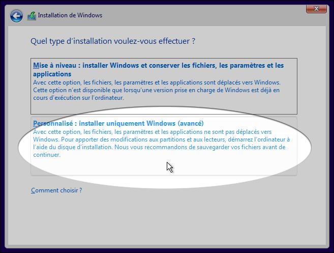Installer Windows 10 sur Mac OS X